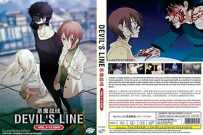 ANIME DVD~ENGLISH DUBBED~Devil's Line(1-12End)All region FREE SHIPPING+FREE GIFT