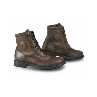 Falco Aviator Motorcycle Boots (color brown, size EU-43 US-9)