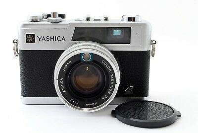 For Parts Yashica Electro 35 GX Rangefinder Film Camera  From Japan