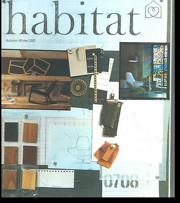 HABITAT FURNITURE Store Catalogue Magazine 2007 AUTUMN WINTER LIVING DESIGN RARE