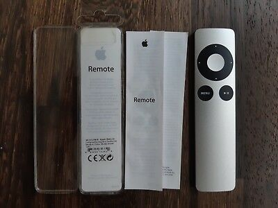 OVP Original Apple Remote A1294 Fernbedienung für Apple TV