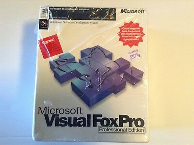 MICROSOFT VISUAL FOX Pro UPGRADE, Professional Edition