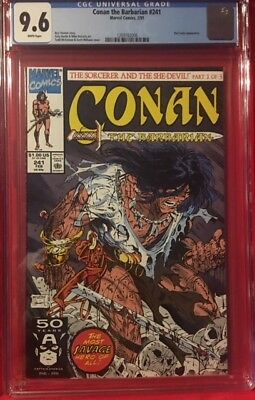 CONAN THE BARBARIAN #241 CGC 9.6 NM+ Near Mint Todd McFarlane Cover High Grade
