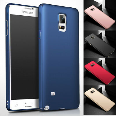 Samsung Galaxy Note 4 / 3 New Thin Protective Hard PC Back Slim Skin Case Cover