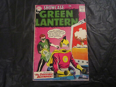 Showcase #23 - 1959 - 2nd appearance of Green Lantern