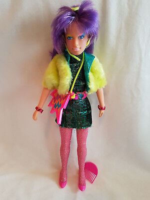 Clash Doll Jem and the Holograms Hasbro Vintage BEAUTIFUL