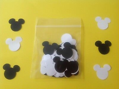 Pack Of 100 Mixed Mickey Mouse Confetti  Disney Wedding Buy 2 Packs Get 1 Free