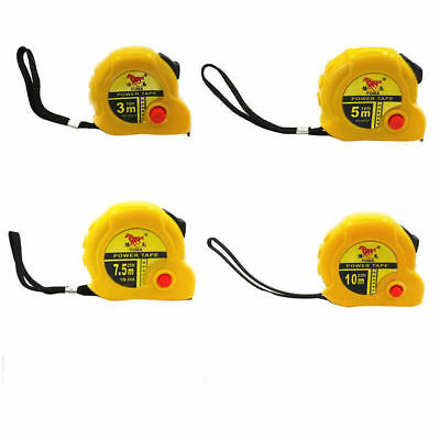 Tape measure with Automatic retractor double Operation 3m,5m, 7.5m, 10m UK Stock