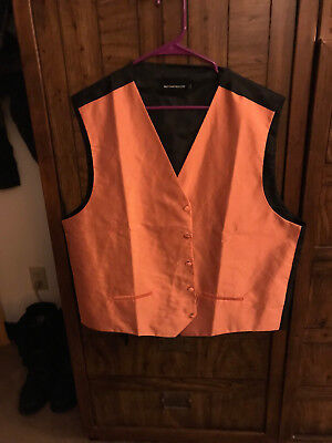 Orange Vest Men`s XL Halloween Cosplay Jiminy Cricket Disney Mickey MNSSHP