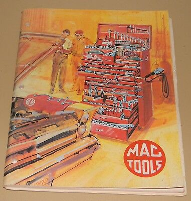 Vtg 1969 Mac Tools Tool Catalog With Original Price Sheet 150 Pages Of Tools