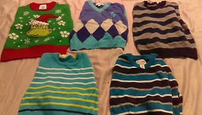 lot of boys sweaters size 3t