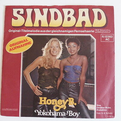 "HONEY B. - Sindbad / Yokohama-Boy - Single 7"" von 1978"