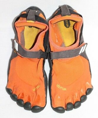 the latest 484a9 7bfe8 Vibram Five Fingers Treksport M4483 Orange Barefoot Minimalist Running  Men s 43