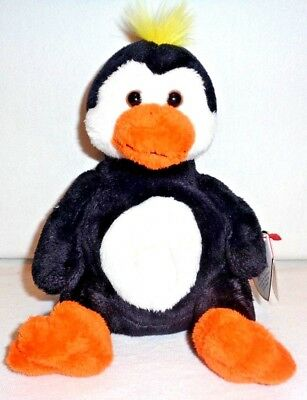 Mint ~ Ty Beanie Baby Babies ~ TUX the PENGUIN ~ Plush ~ 2004 ~ MWMTs ~ Retired