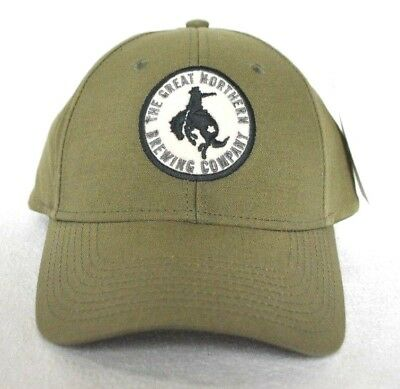 a34ae9be687  GREAT NORTHERN BREWING MONTANA  Structured Ball cap hat  OURAY  embroidered