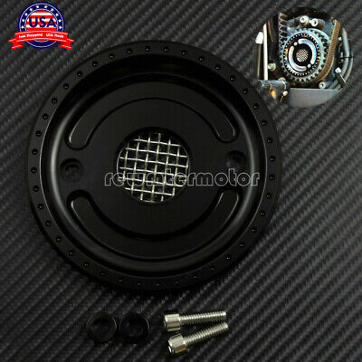Front Pulley Cover for Harley Sportster XL 883 2004-2015 2016 2017 Matte Black