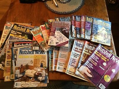 33 Nutshell News Magazines 1993-1997 Large Lot