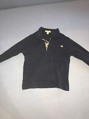 Burberry Baby Toddler Long Sleeve Collared  Shirt Size 10y