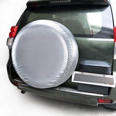 """15"""" Spare Tire Cover Wheel Tyre Covers for all Diameter 70~75cm M-Size HM"""