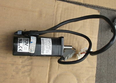Used 100% test Yaskawa  servo motor SGMAH-01AAA41 by DHL or EMS