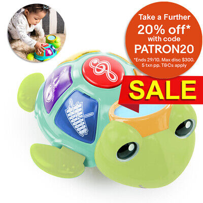Baby Einstein Turtle Orchestra Musical Toy w/Classical Music/Kids/Infant 3m+