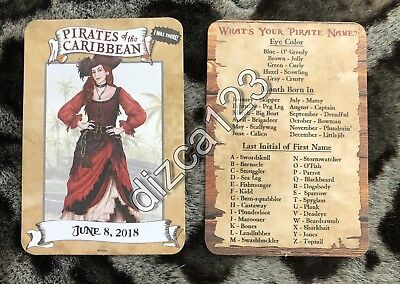 Disney Card Disneyland Pirates of The Caribbean Red Head I Was There Card RARE