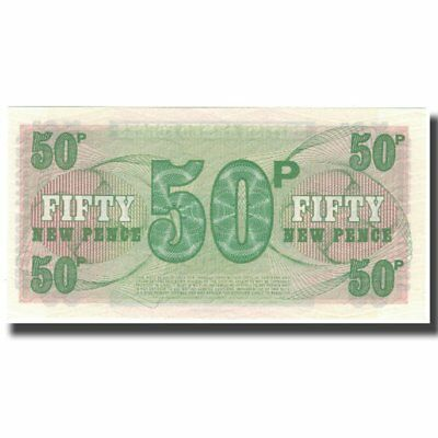 [#574392] Banknote, Great Britain, 50 New Pence, Undated (1972), Undated (1972)