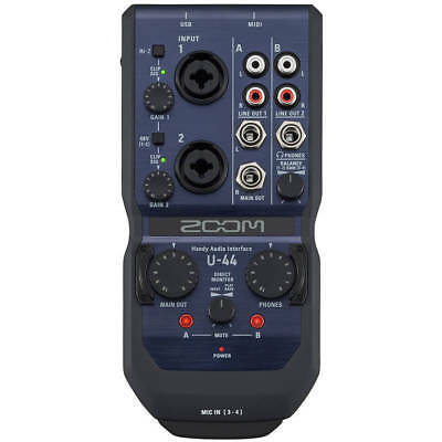 Zoom U-44 - USB 4-in/4-out Audio-Interface - Soundkarte - OVP & NEU