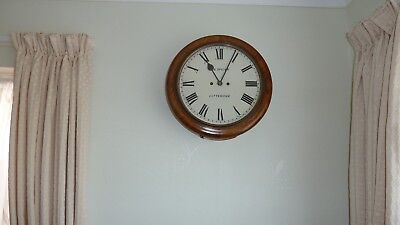 Superb Walnut Double Fusee Antique Wall Clock-In Full Working Order