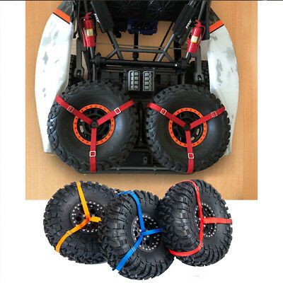 1/7 RC Traxxas Unlimited Desert Racer UDR 3-Point Spare Tire Tie Down Straps