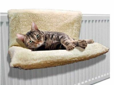 Fleece Dog Cat Radiator Bed Warm Beds Basket Cradle Hammock Animal Puppy Pet