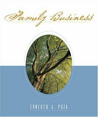 Family Business by Poza, Ernesto Hardback Book The Cheap Fast Free Post