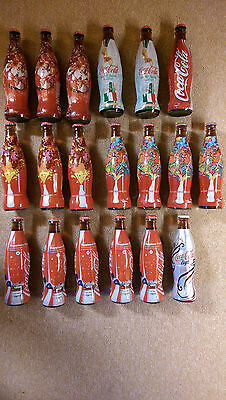 Lot Of Full Bottles Coke Coca Cola  From Italy And Other Country 17 $ Per Bottle