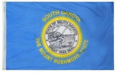 SOUTH DAKOTA STATE OF FLAG  NEW 3x5 ft USA seller