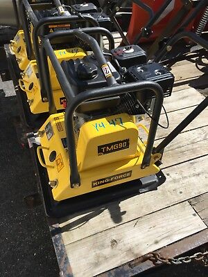 King Force 205 Lb Plate Compactor