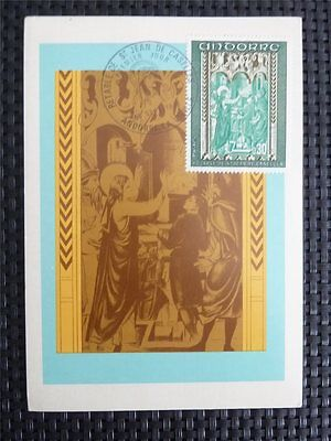 ANDORRA MK 1971 KIRCHE FRESKEN CHURCH MAXIMUMKARTE MAXIMUM CARD MC CM c4897