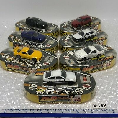 Initial D Circle K Toy Car The beginning of the legend Complete Set W/B S-159