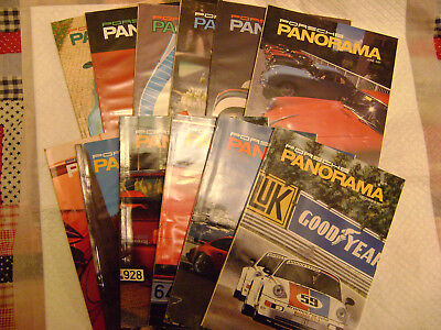 1991 Porsche PCA Panorama Magazine 1ull year Issues ,*NEAR MINT CONDITION