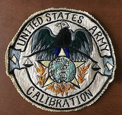 WWII/WW2-Korea? US ARMY PATCH-Field Calibration Support-ORIGINAL RARE BEAUTY!