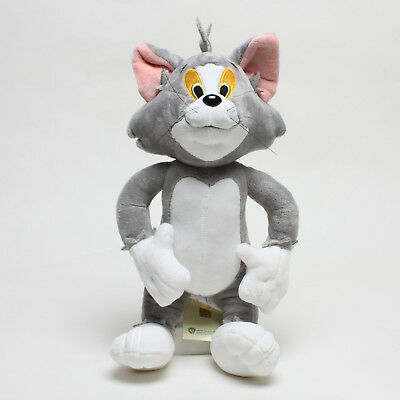 """13.3"""" Tom and Jerry Licensed Warner Bros Tom Cat Plush Toys Soft Stuffed Doll"""