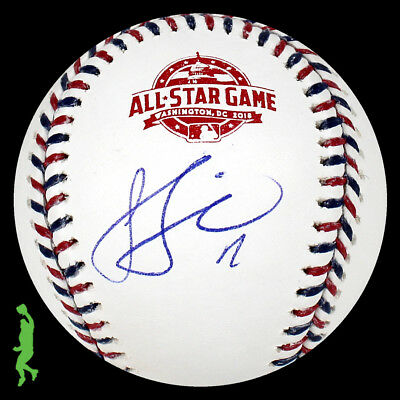 Jose Berrios Autograph Signed 2018 All-Star Game Baseball Ball Twins Jsa Coa