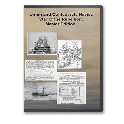 Official Records Union & Confederate Navies War of the Rebellion DVD - A747