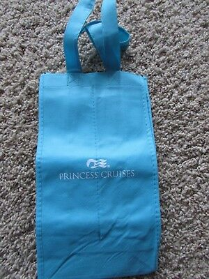 NEW/unused PRINCESS CRUISES Reusable Shopping Tote divided bottle carrier