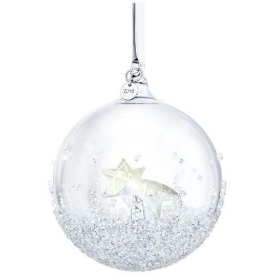 Swarovski  Christmas Ball Ornament 2018 Annual Edition # 5377678 New