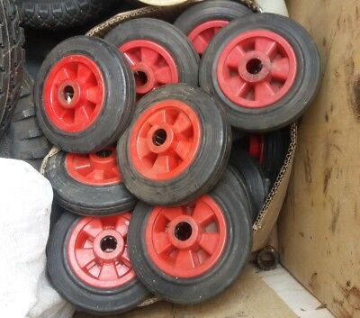 160/40-80 Wheel & solid rubber tyre 20mm bore