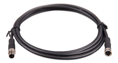 Victron Energy M8 circular connector Male/Female 3 pole cable 3m (bag of 2)