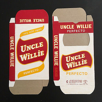 Vintage Uncle Willie Perfecto Cigar Boxes – Red Lion, PA.
