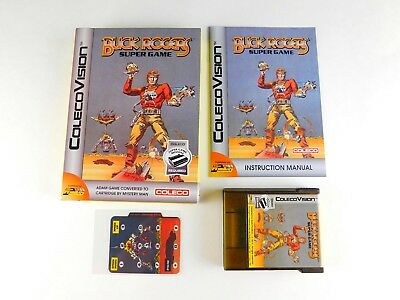 COLECOVISION & ADAM Video Game BUCK ROGERS in Box Requires Super Game Module