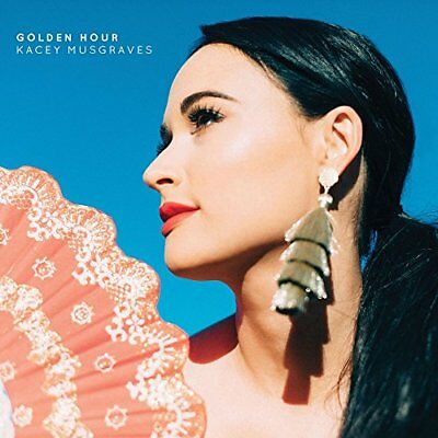 2018 JAPAN CD KACEY MUSGRAVES GOLDEN HOUR WITH 3 BONUS TRACKS From japan