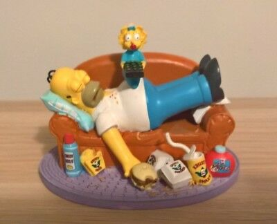 The Simpsons WHO'S IN CONTROL Hamilton Figurine AT HOME WITH HOMER Collection